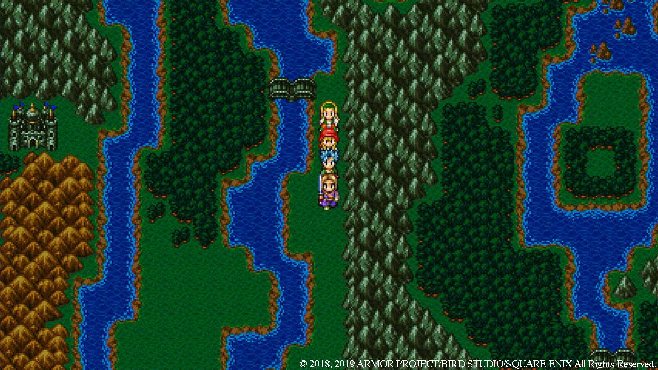 Dragon Quest 11 i 2D
