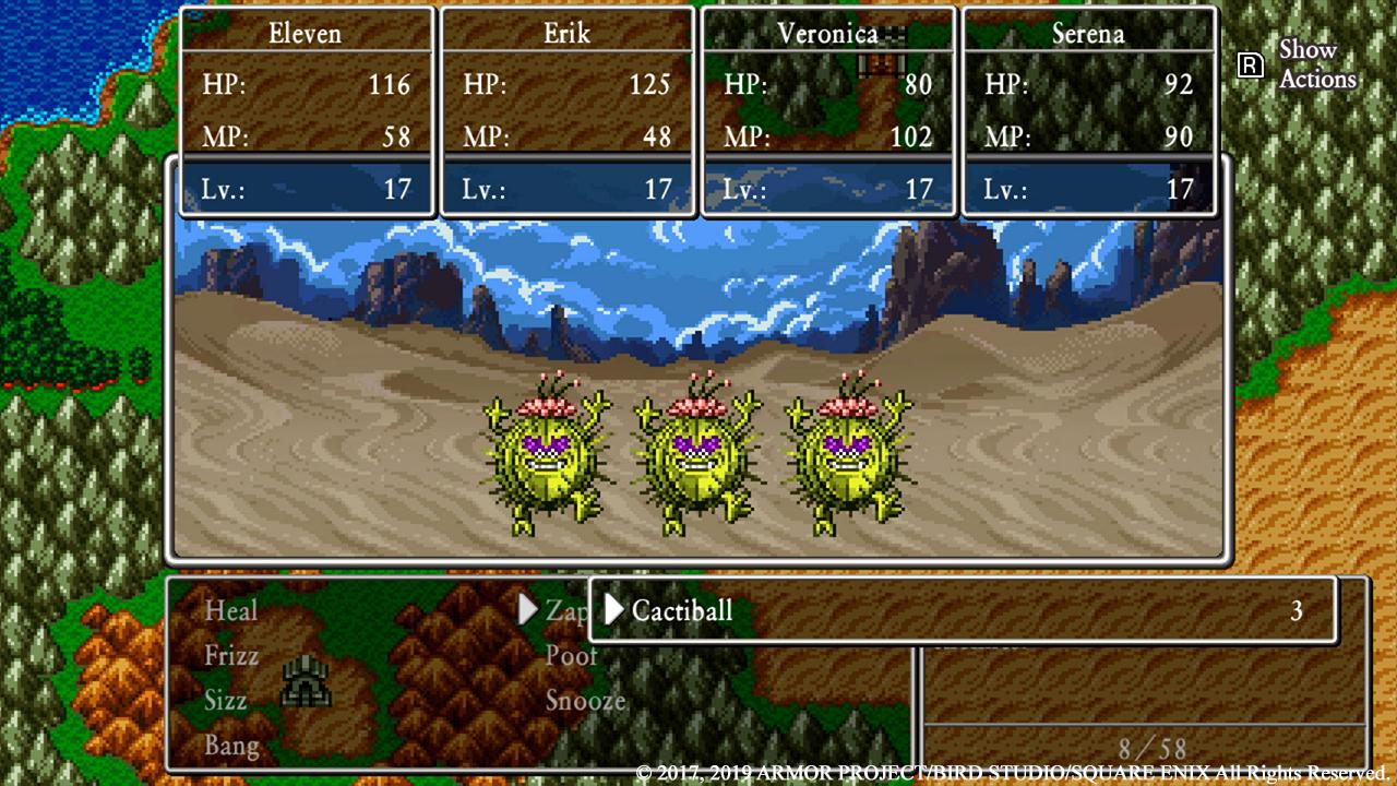 Dragon Quest XI 2D-läge