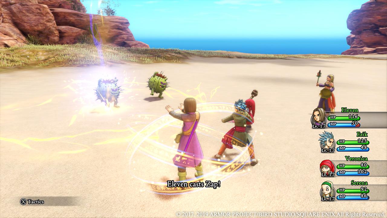 Dragon Quest XI 3D-läge
