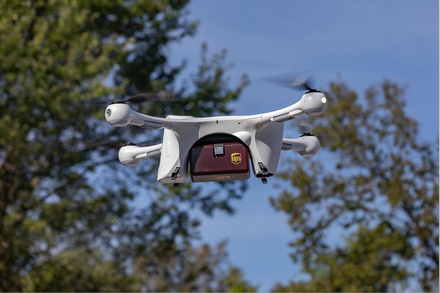 Drone de livraison UPS
