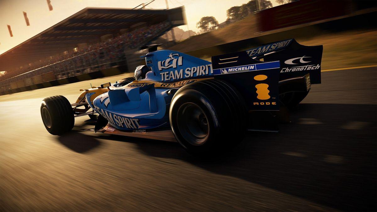 La Renault F1 dans GRID