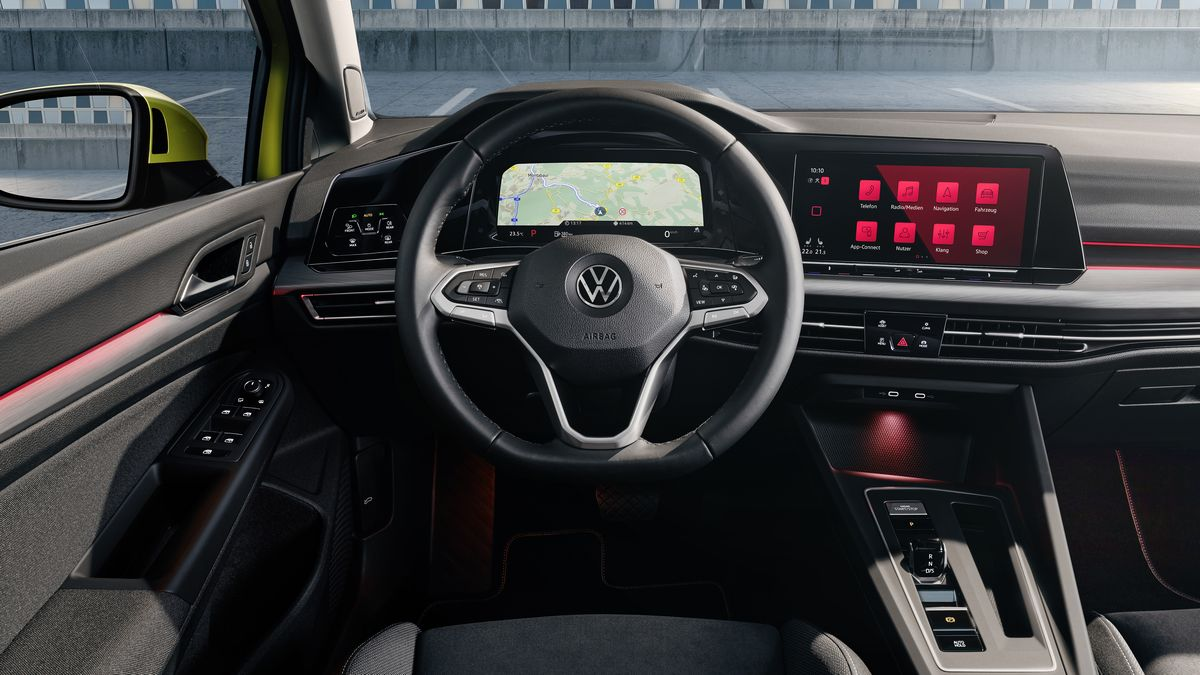 Intérieur nouvelle Volkswagen Golf