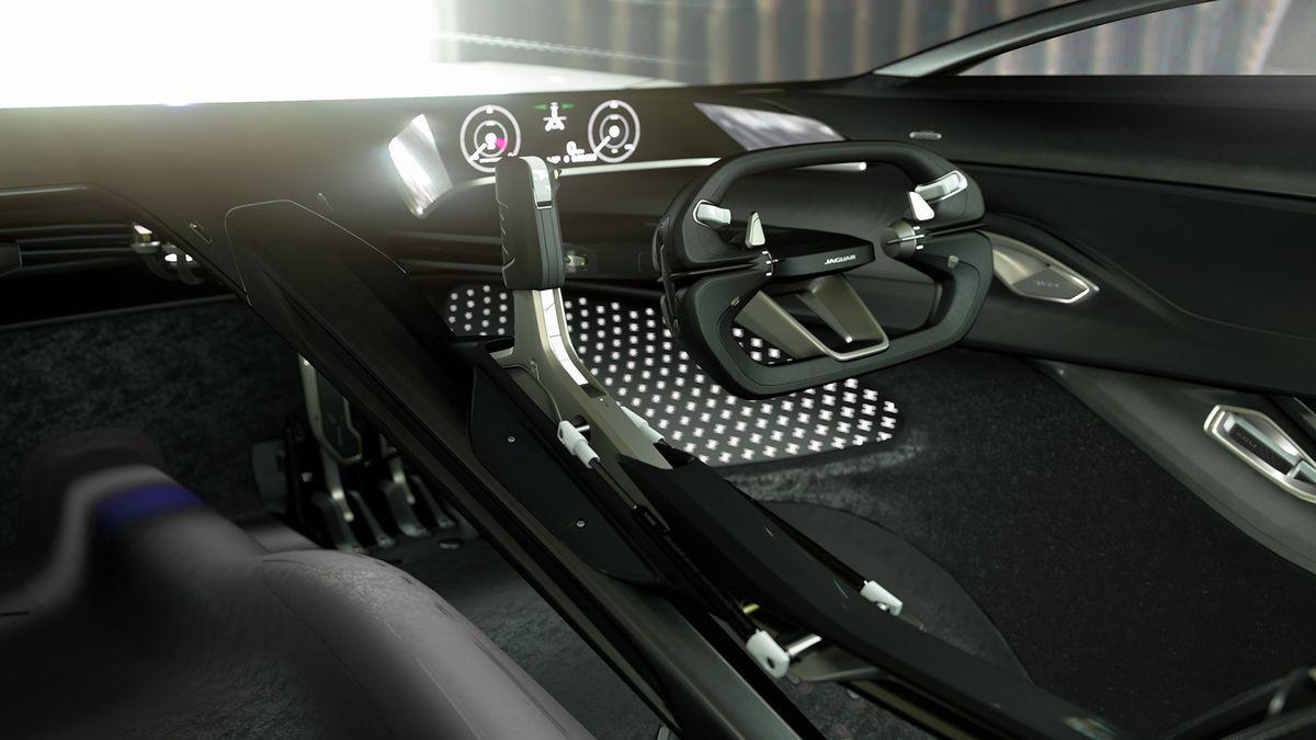 La nouvelle Jaguar Vision Gran Turismo
