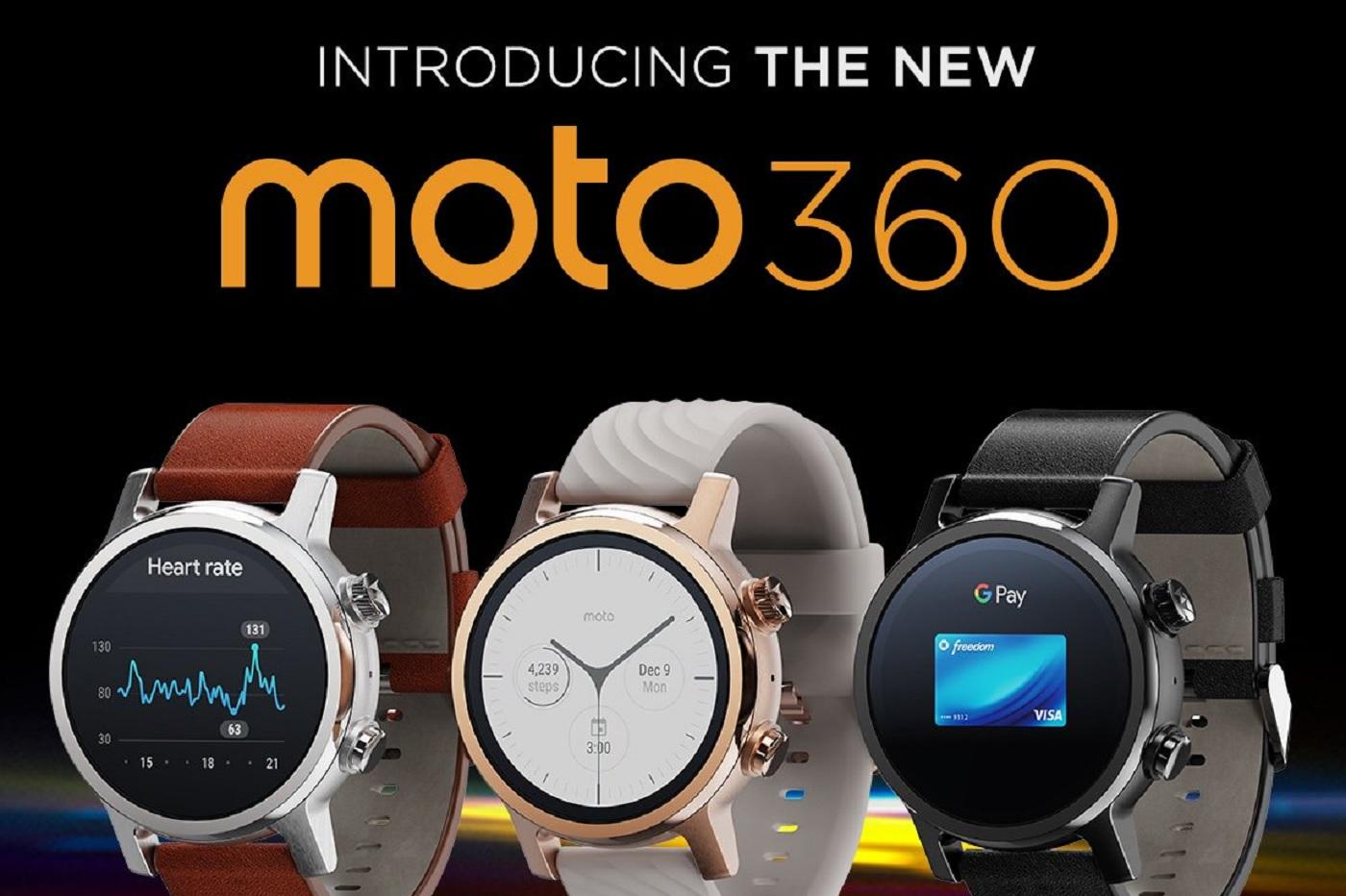 La nouvelle monre Moto 360