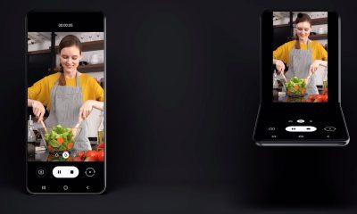 Le concept de téléphone à clapet de Samsung