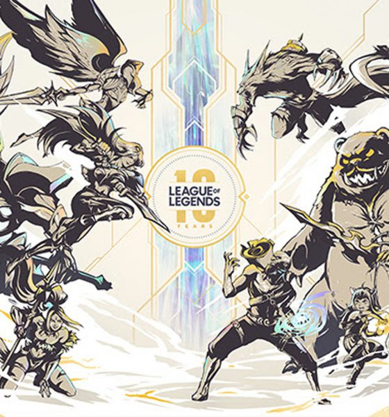 League of Legends dix ans