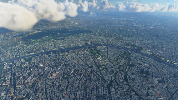 Paris dans Flight Simulator 2020