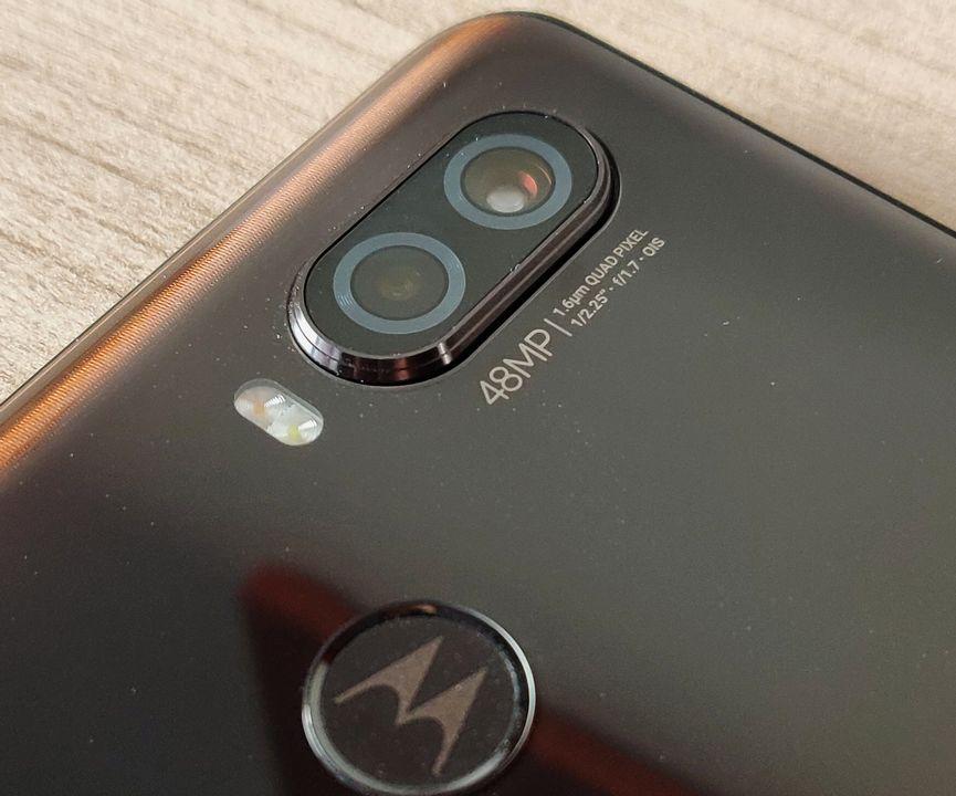 Objectif photo Motorola One Vision