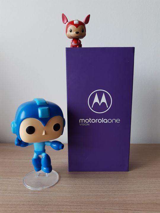Motorola One Vision Megaman