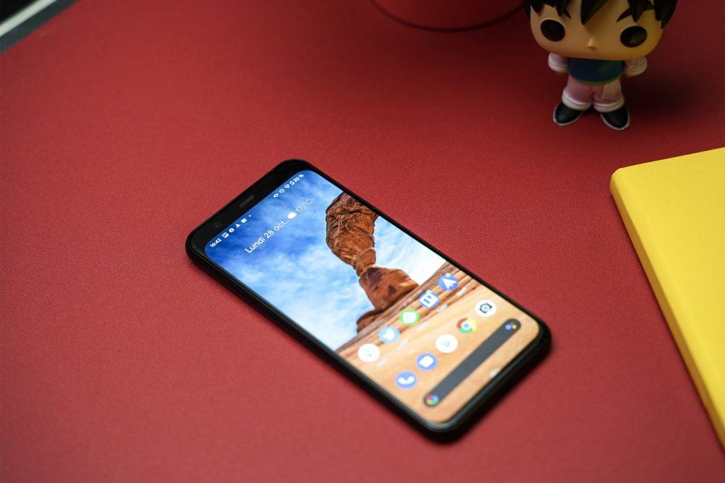 Test Pixel 4 Google