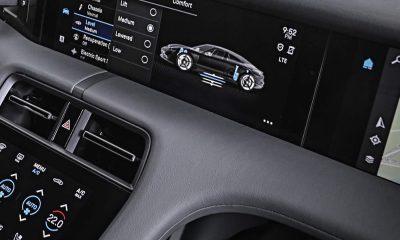 Porsche Taycan écrans