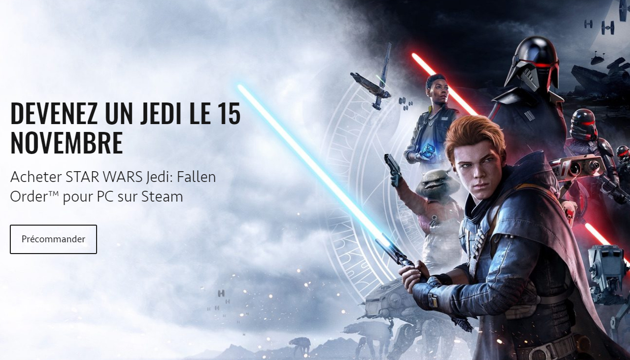Star Wars sur Steam