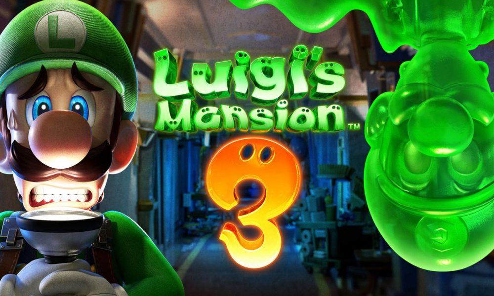 Test Luigi's Mansion 3 Nintendo Switch
