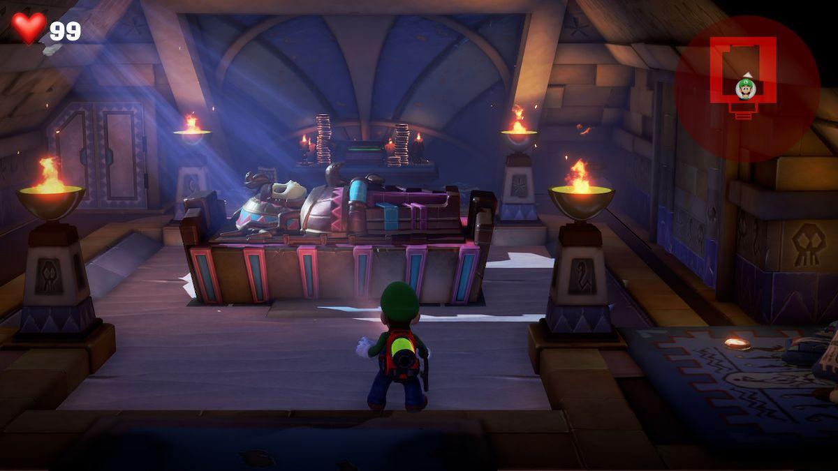 Le test de Luigi's Mansion 3