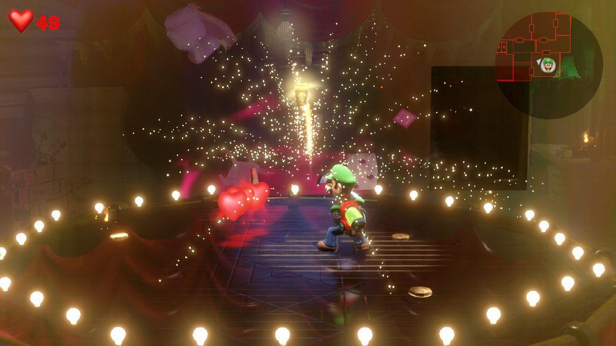 Test Luigi's Mansion 3 Switch