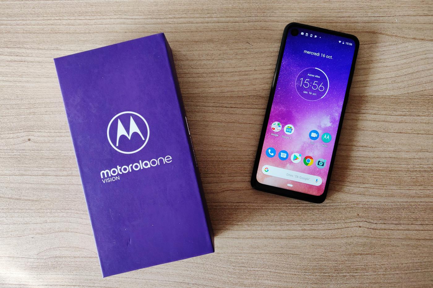 Test du Motorola One Vision