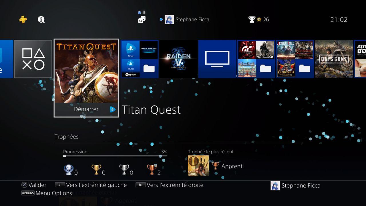 PS Now sur PS4