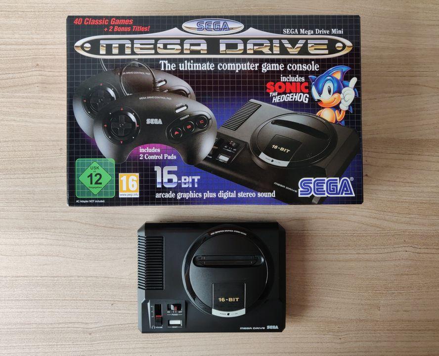 La SEGA Mega Drive Mini