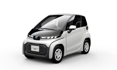 Toyota voiture électrique biplace