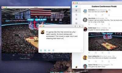 Twitter sur MacOS