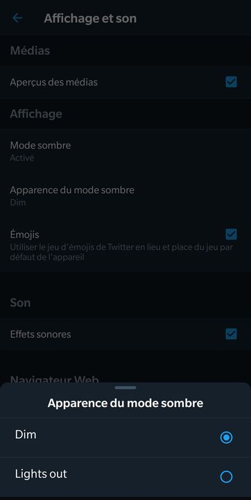 Twitter Dark Mode Dim