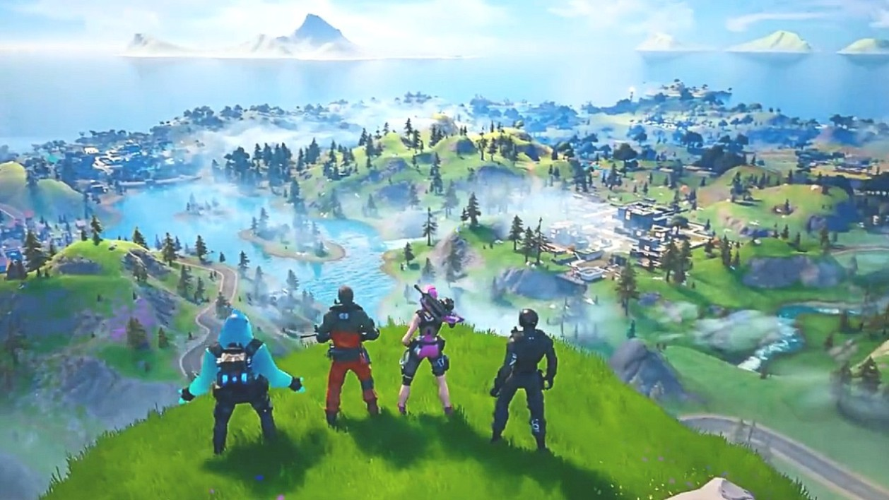 Nouvelle map Fortnite