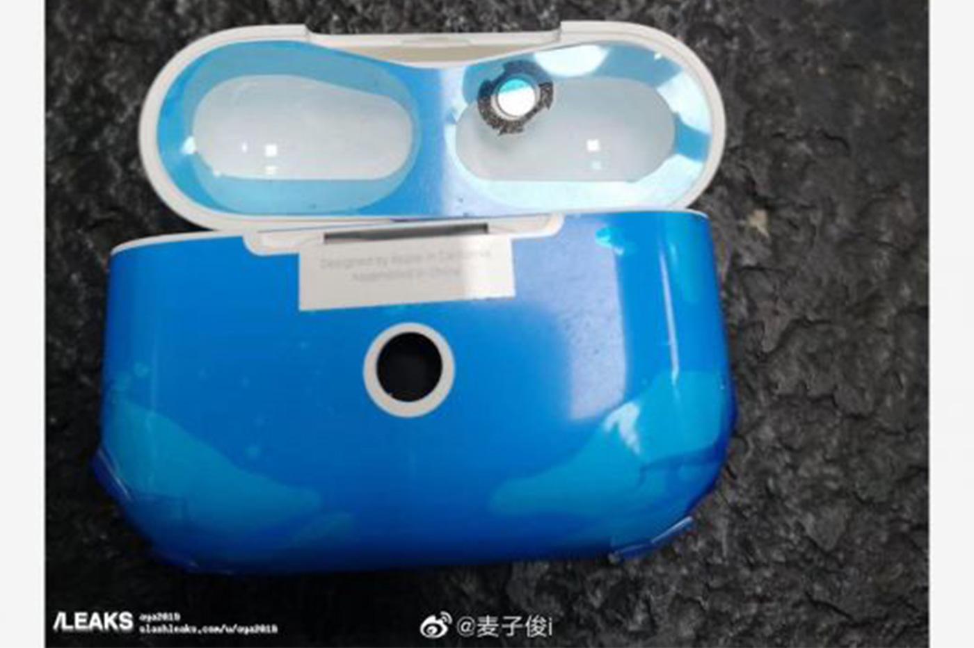 AirPods Pro Apple bleu