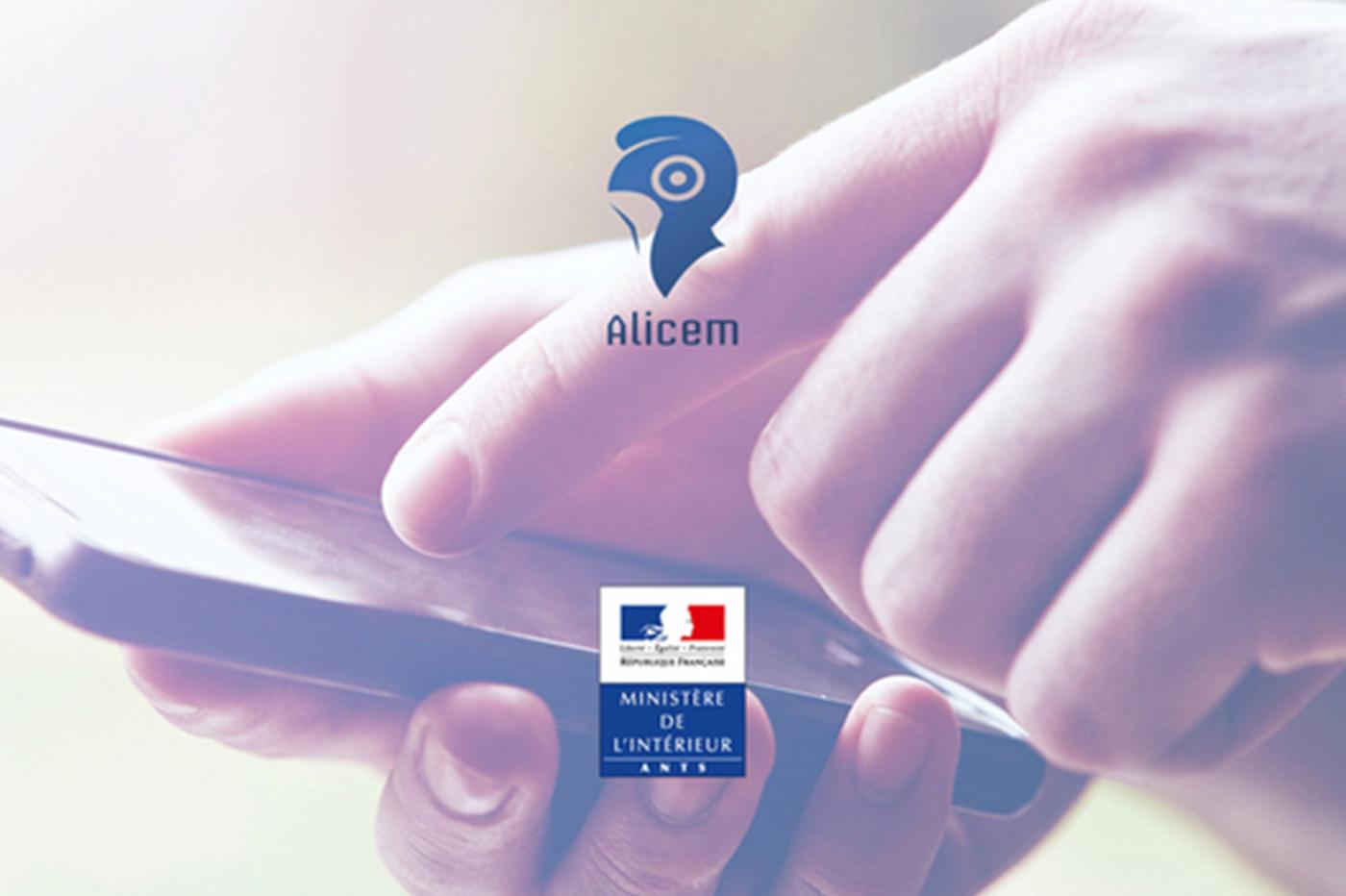 Alicem application reconnaissance faciale