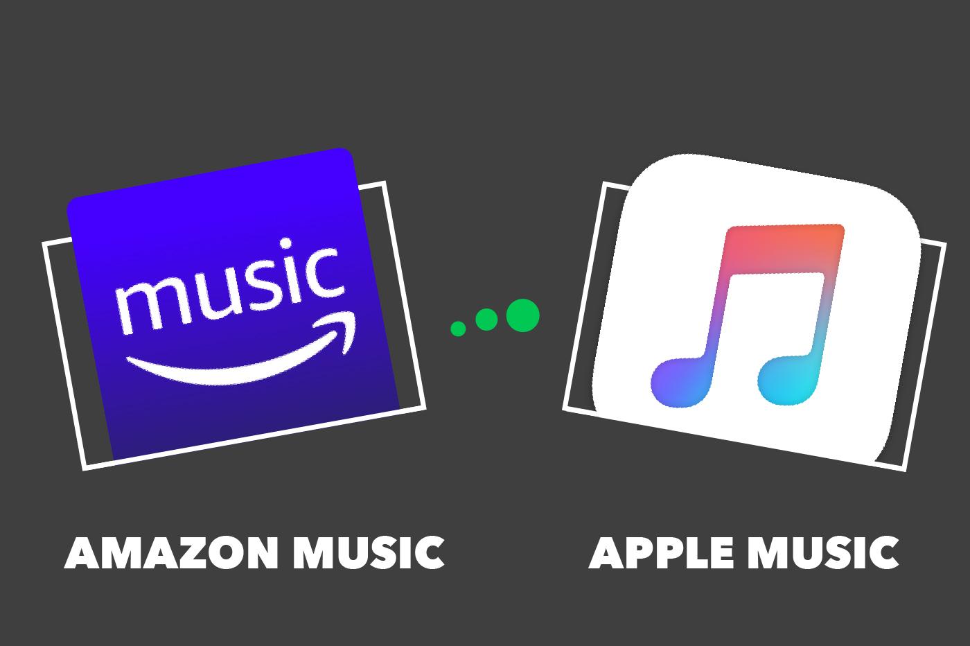 Amazon Music VS Apple Music : comparatif et différences