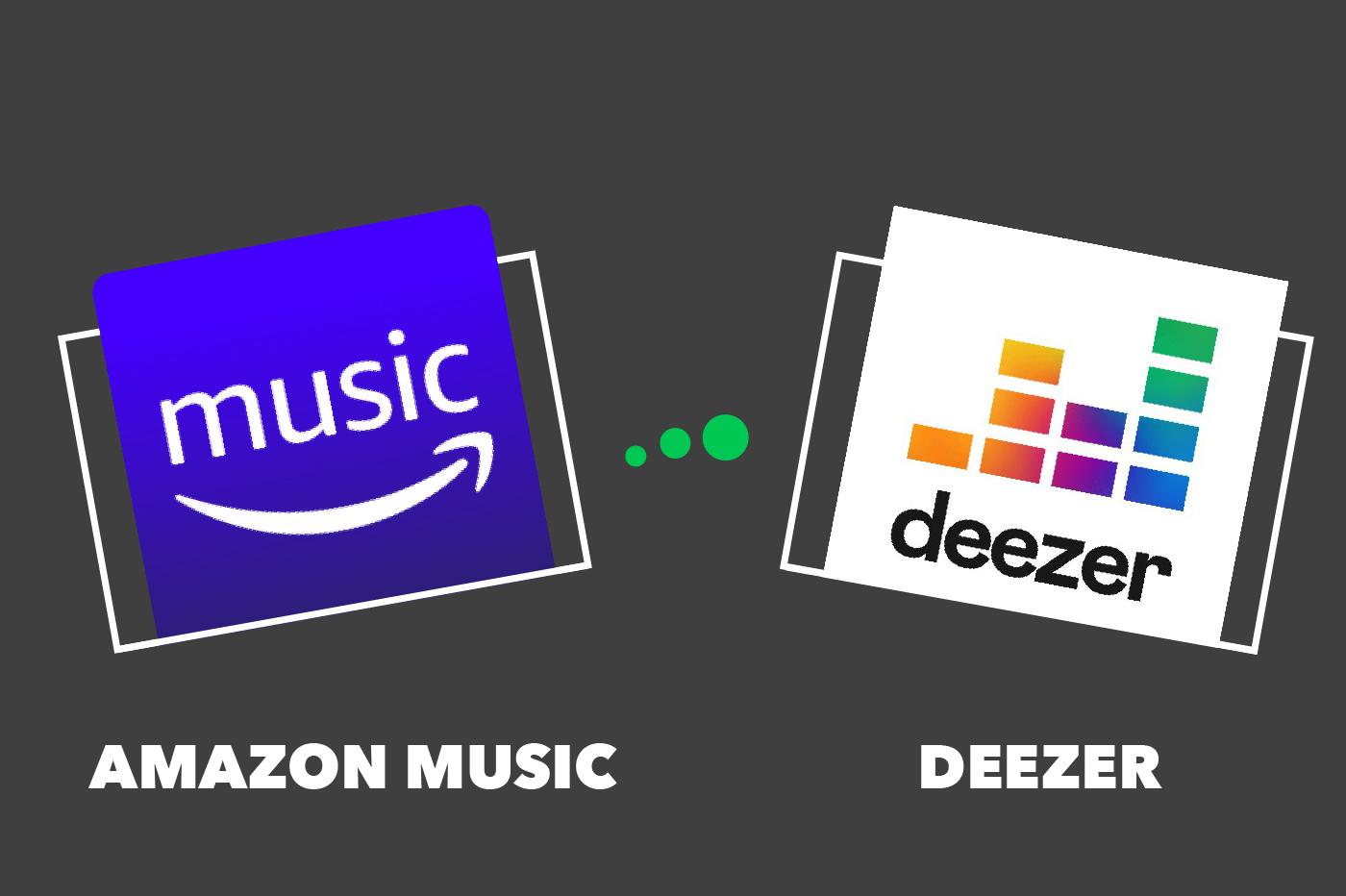 Amazon Music Deezer comparatif