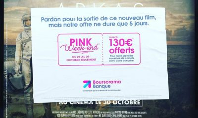 Boursorama Pink Week-end