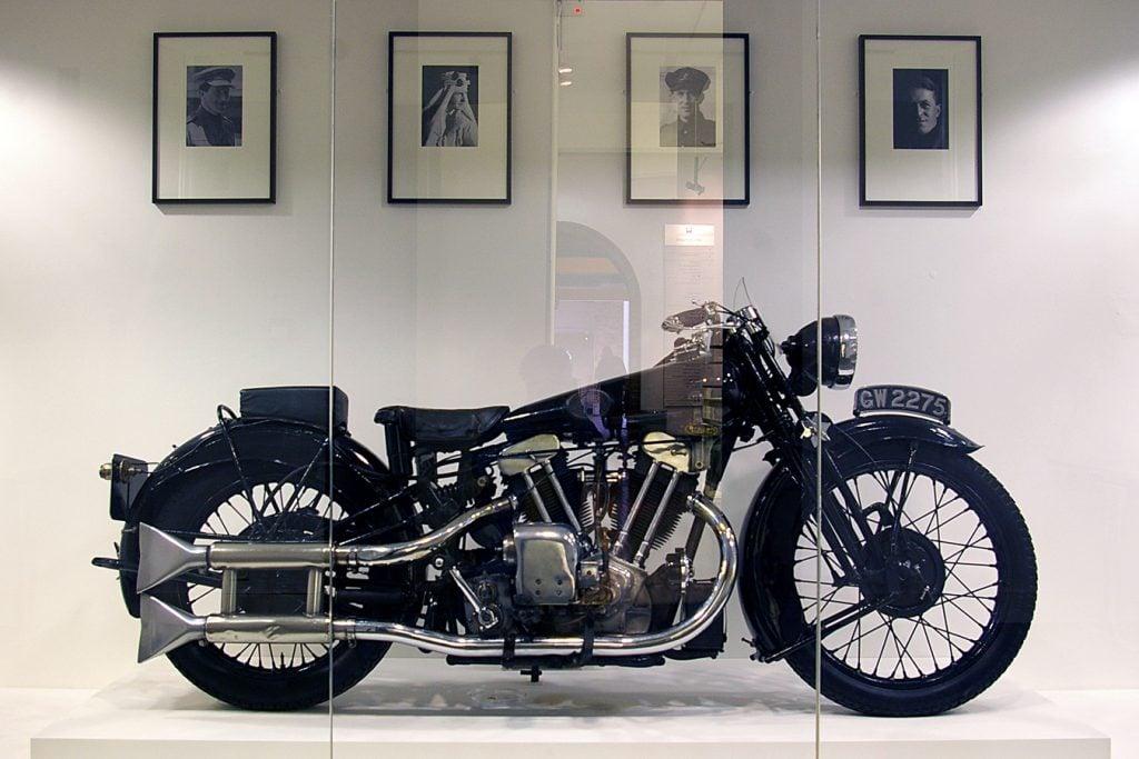 Brough Superior moto