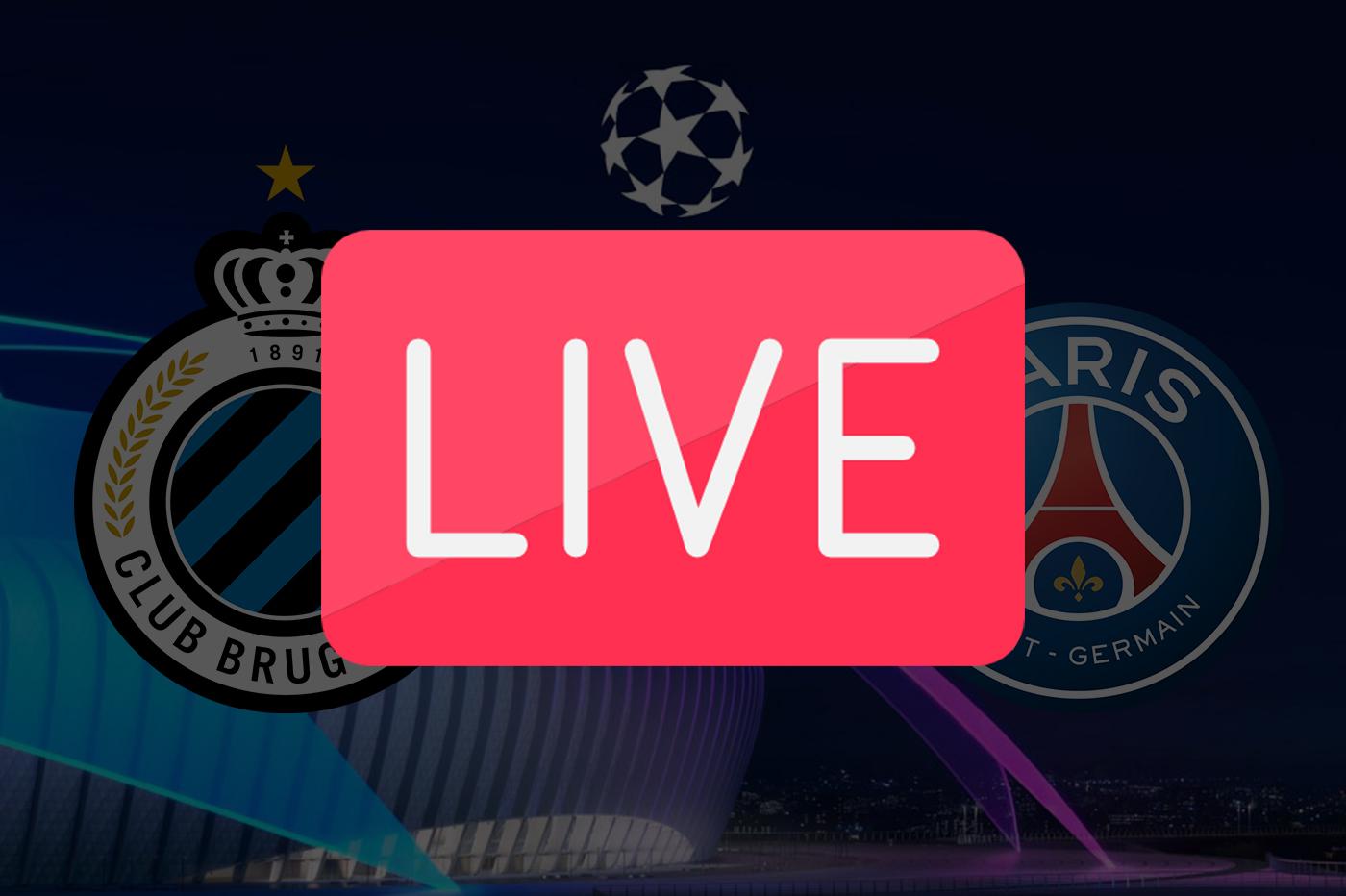 Streaming Bruges PSG: où voir la Ligue des Champions ce soir? 🔴
