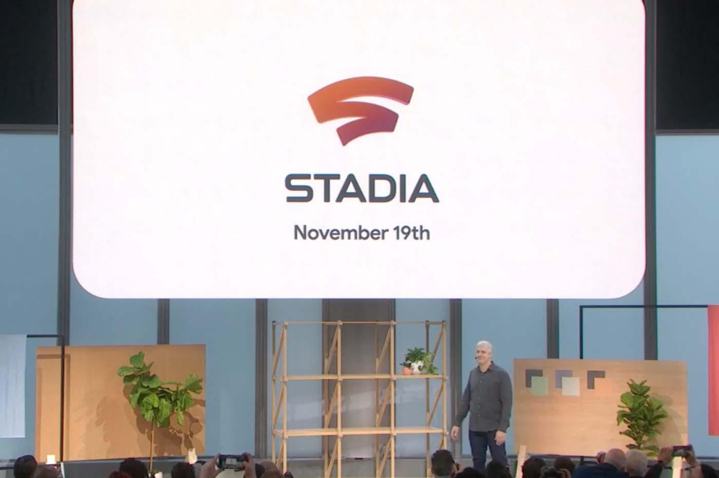 Google Stadia lancé chez nous le 19 novembre