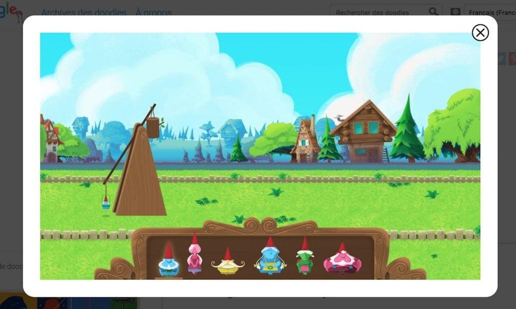 Google gnomes jardin