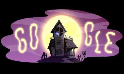 Google jeu halloween