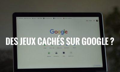Google jeux caches