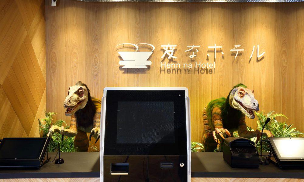 hôtel Henn na robots