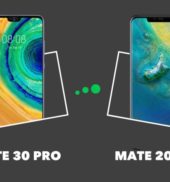 Mate 20 Pro vs Mate 30 Pro