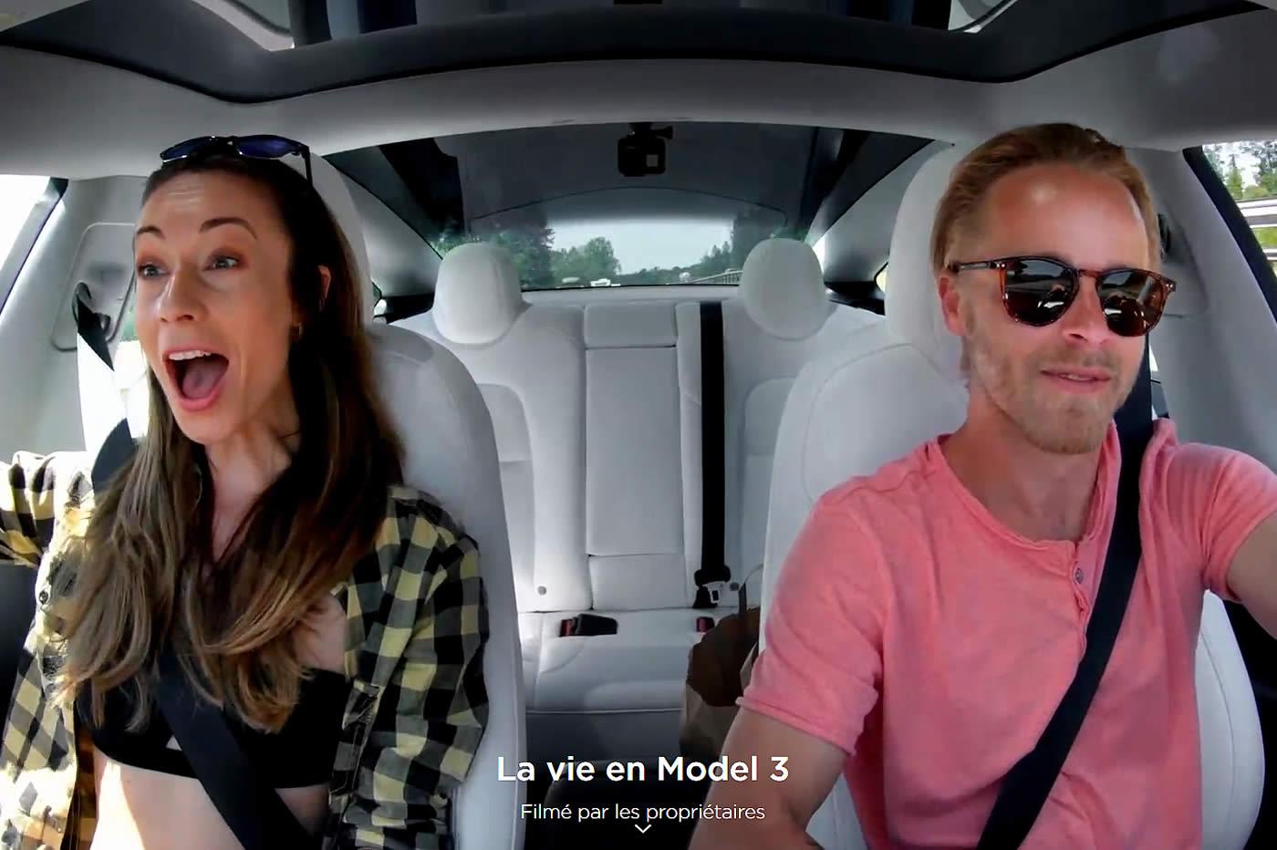 la vie en Model 3