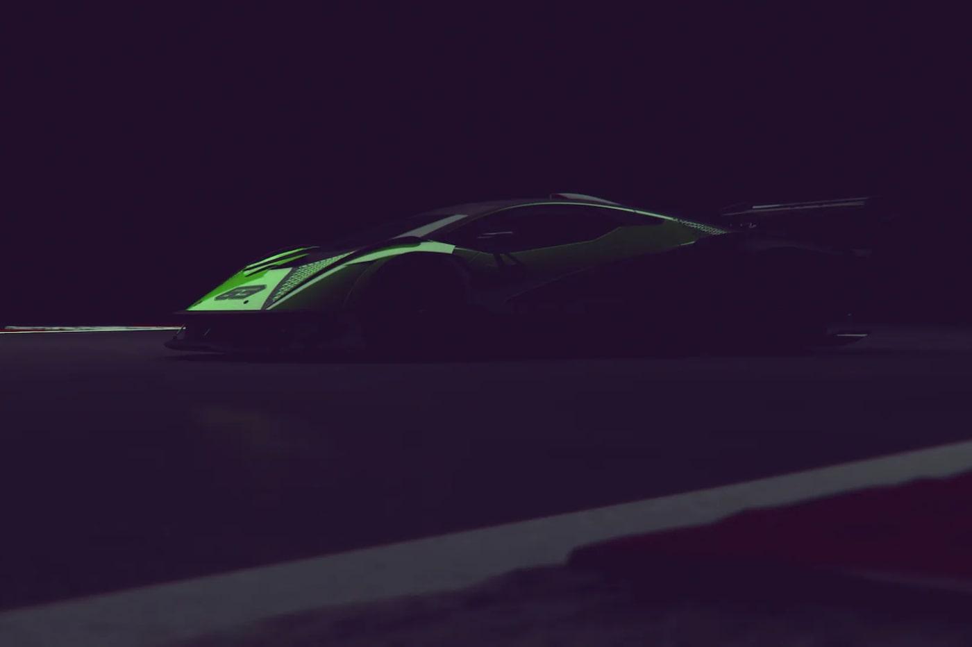 Lamborghini s'apprête à dire au revoir aux modèles 100 % thermiques