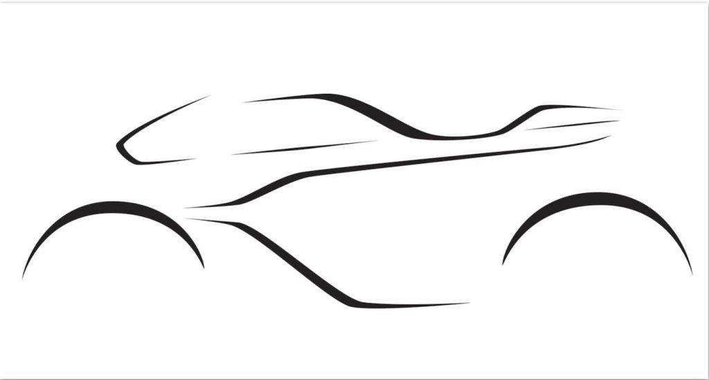 Motocicletta Aston Martin