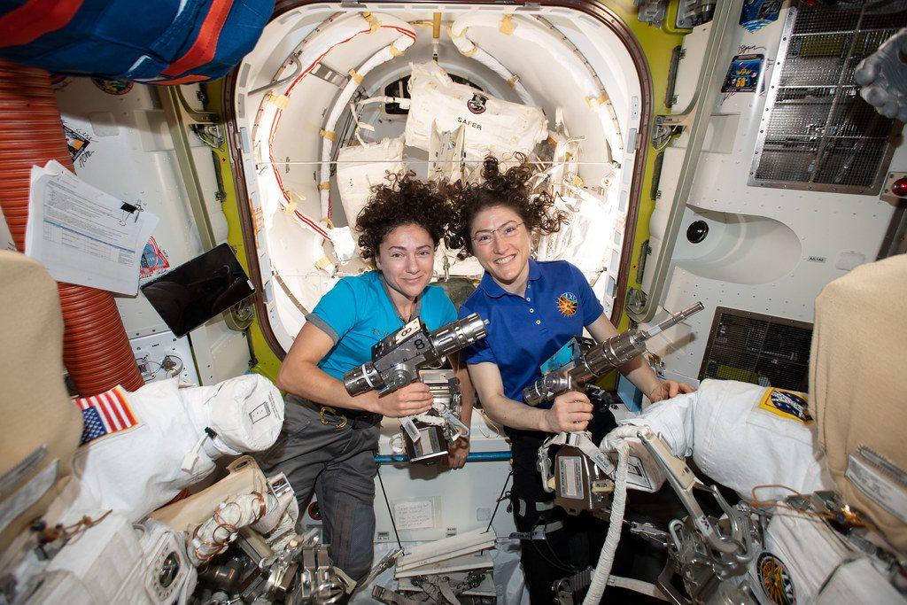 Jessica Meir et Christina Koch NASA