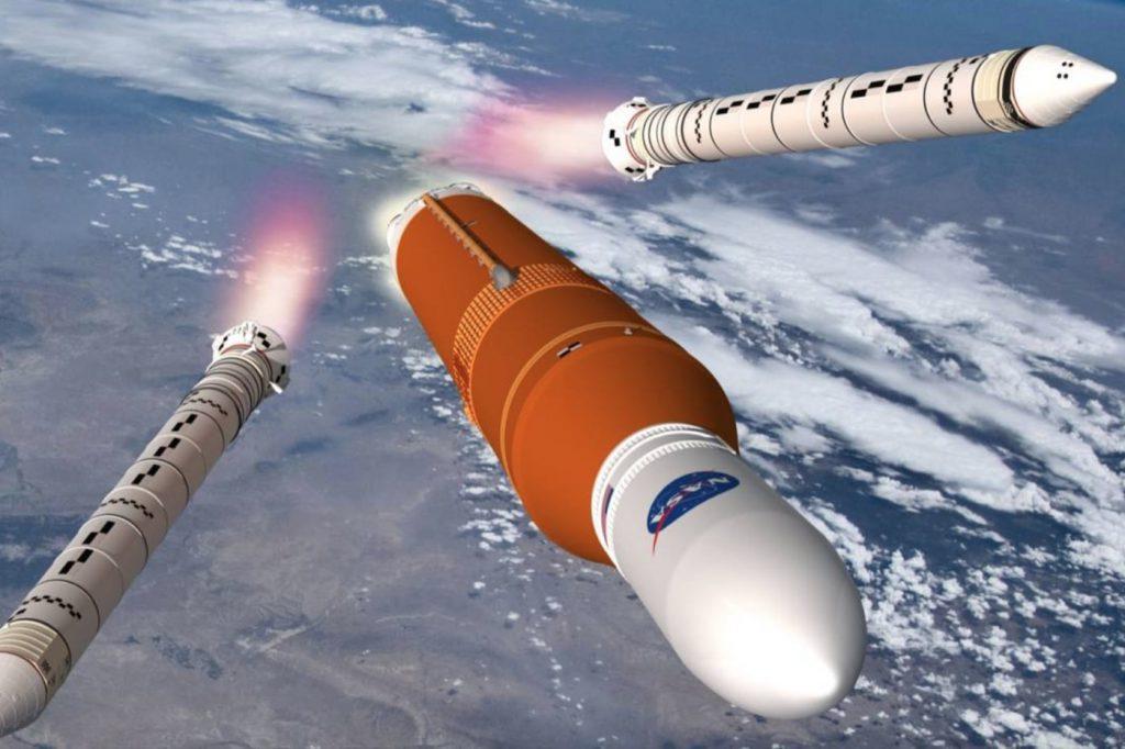 NASA fusee lune