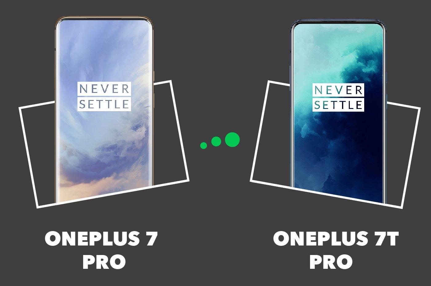 OnePlus 7T Pro vs OnePlus 7 Pro