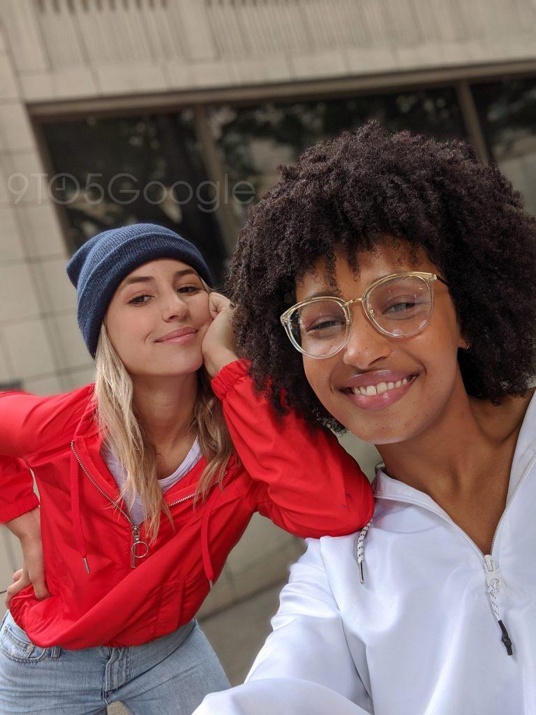 Pixel 4 Selfie Portrait