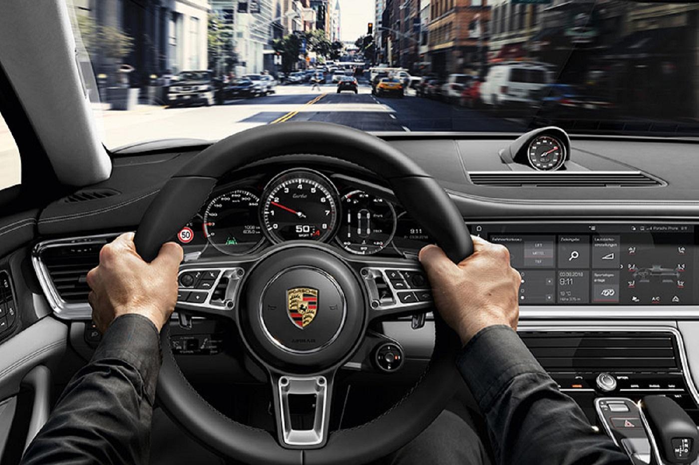 Habitacle Porsche Panamera
