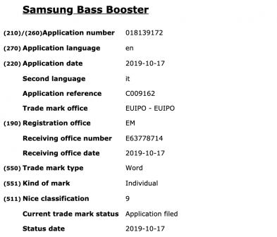 Samsung Bass Booster