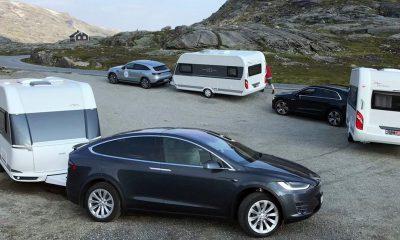 Tesla caravane