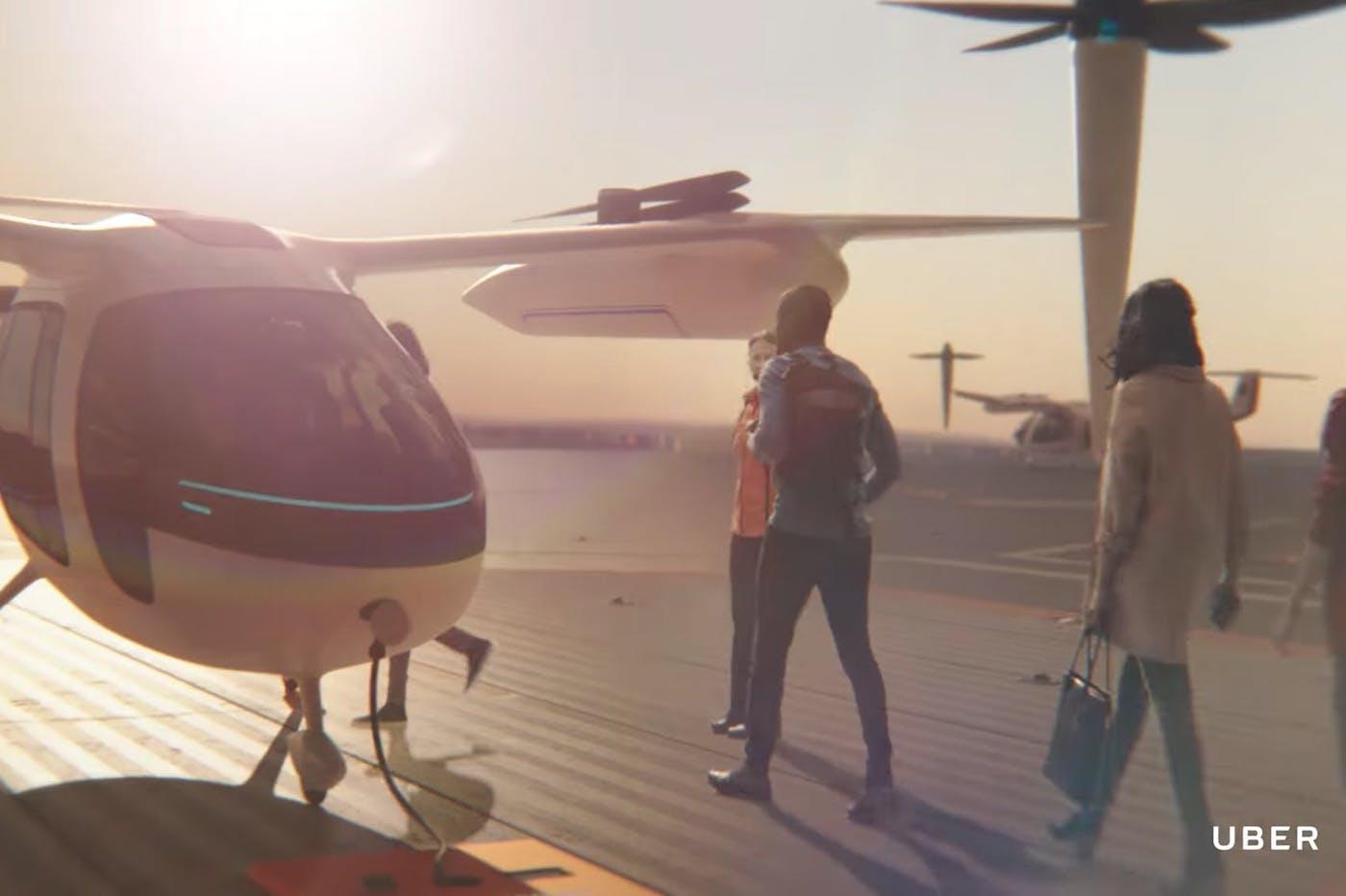 Uber NASA voiture volante